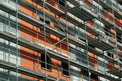 Building In Construction Royalty Free Stock Photos