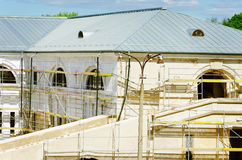 Free Building In The Scaffolding Stock Images - 24992874