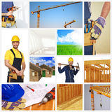 Building industry background Stock Photos