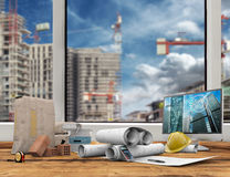 Building industry concept Royalty Free Stock Images