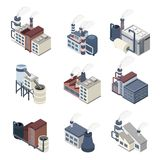 Building Industry Isometric Stock Photos