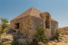 The building inside Fortezza Castle. Royalty Free Stock Photo