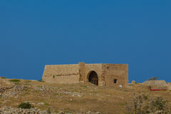 The building inside Fortezza Castle. Royalty Free Stock Images