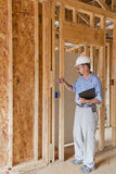 Building Inspector Stock Image