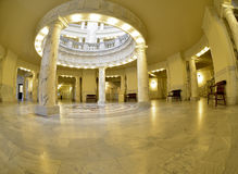 Building Interior Columns and Dome Royalty Free Stock Image