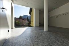 Building interior, corridor Royalty Free Stock Image