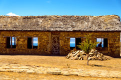 Building on Island of the Sun Royalty Free Stock Photos
