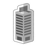 Building isometric isolated icon Royalty Free Stock Image