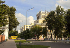 The building of the Ivanovo State Medical Academy Royalty Free Stock Photos