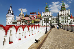 Building Izmailovo Kremlin, Moscow, Russia Royalty Free Stock Image