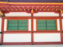 Building within The Japanese shrine Royalty Free Stock Photos