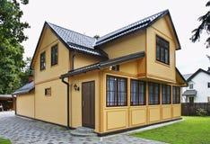 Building in Jurmala town. Latvia Royalty Free Stock Photo