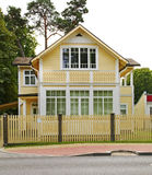 Building in Jurmala town. Latvia Royalty Free Stock Image