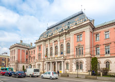 Building of Justice Palace in Cluj - Napoca Stock Images
