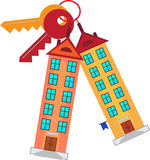 Building keys. Royalty Free Stock Images