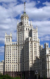 Building on Kotelnicheskaya embankment Royalty Free Stock Images