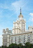 Building Kotelnicheskya embankment in Moscow Royalty Free Stock Photo