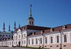 Building of Kremlin, city Kasan Royalty Free Stock Image