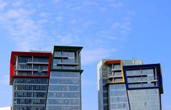 Building of the Kuntsevo Plaza Royalty Free Stock Photography