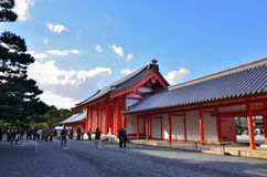Building of Kyoto Imperial Palace, Japan Stock Images