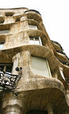 Building La Pedrera by Antonio Gaudi Royalty Free Stock Image
