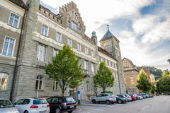 Building Landesgericht in Feldkirch Stock Photo