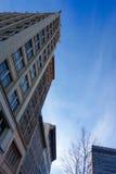 Building. Landscape sky city blue Royalty Free Stock Images