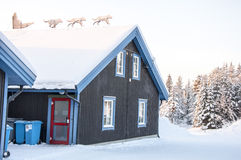 Building in Lapland Stock Photos