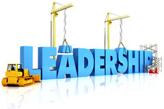 Building Leadership. Word, representing business development Stock Photography