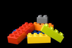 Building lego blocks Royalty Free Stock Images