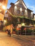 Building of Les maisons de Lea in Honfleur, France Stock Images