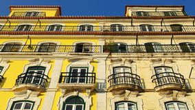 Building, Lisbon, Portugal Royalty Free Stock Photography