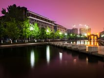 Sichuan University. This is the building of Literature college in the Jangan campus stock photo