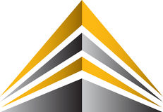 Building logo Royalty Free Stock Photography
