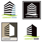 Building Logo stock illustration