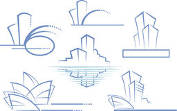 Building logo Stock Image