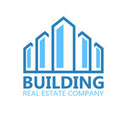 Building logo or symbol icon Stock Images