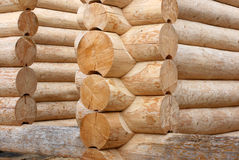 Building logs house 2 Stock Photography