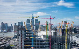 Building London new apartments Royalty Free Stock Photos