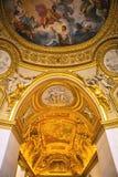 Building of Louvre Indoor. Paris, France. Stock Image