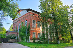 Building of lunatic asylum in Kasimov city, Russia stock image
