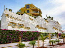 Building and luxury hotel, Tenerife island, Spain Stock Image