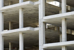 Building made with precast concrete slabs Stock Photography