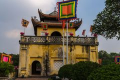 Main Gate of Thang Long Citadel stock photography