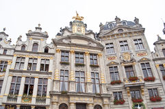 Building  Maison des Brasseurs,Brussels Stock Images