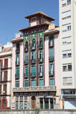 Building in Malaga, Spain Stock Image