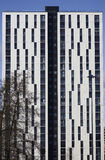 Building in Manchester City, England, Europe. Close-up. Stock Photo