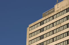 Building in Manchester City, England, Europe. Close-up. Royalty Free Stock Photography