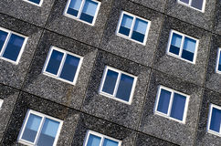 Building in Manchester City, England, Europe. Close-up. Stock Photos