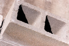 Building materials: CMU blocks Royalty Free Stock Photography